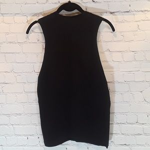 American Apparel Tops - American Apparel black and yellow muscle tank sz L